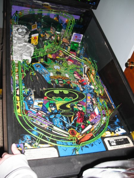 Batman Forever Playfield