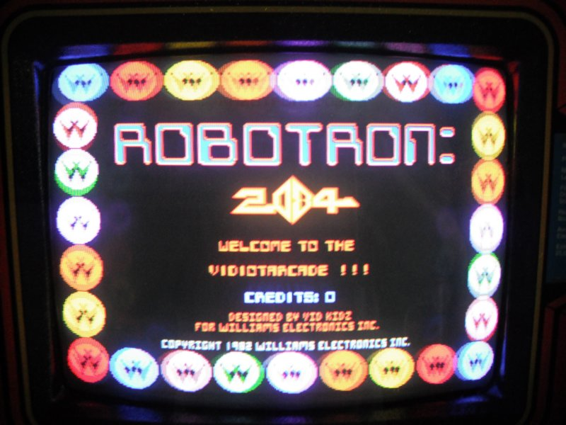 Robotron - screen shot