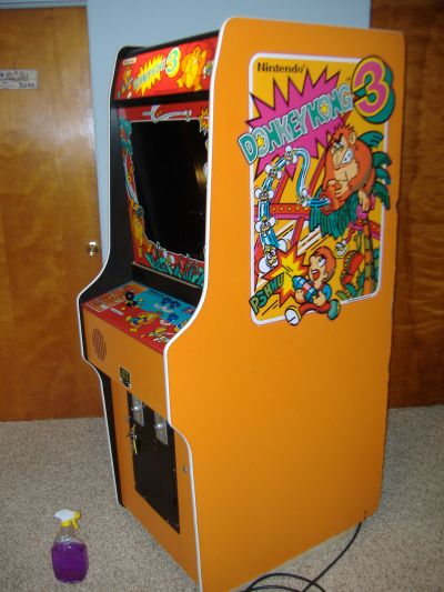 Vidiotarcade Com 169 2001 Donkey Kong 3