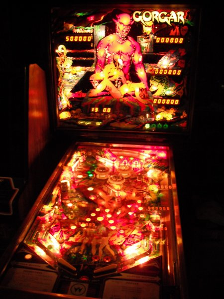 Williams Gorgar Pinball