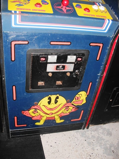 Midway Super Pac-Man - bottom