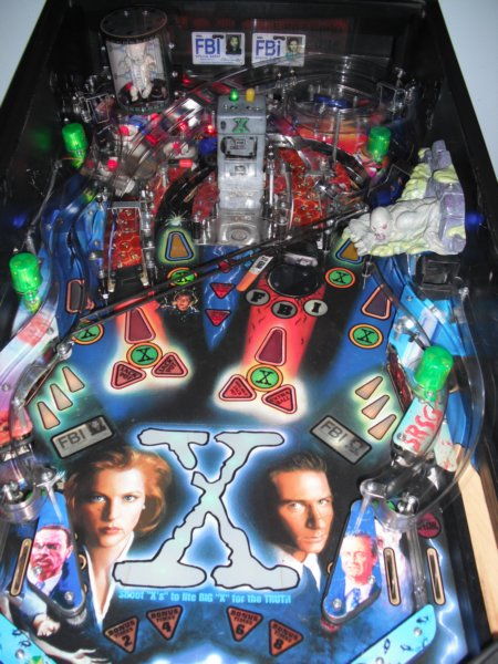 X-Files Playfield