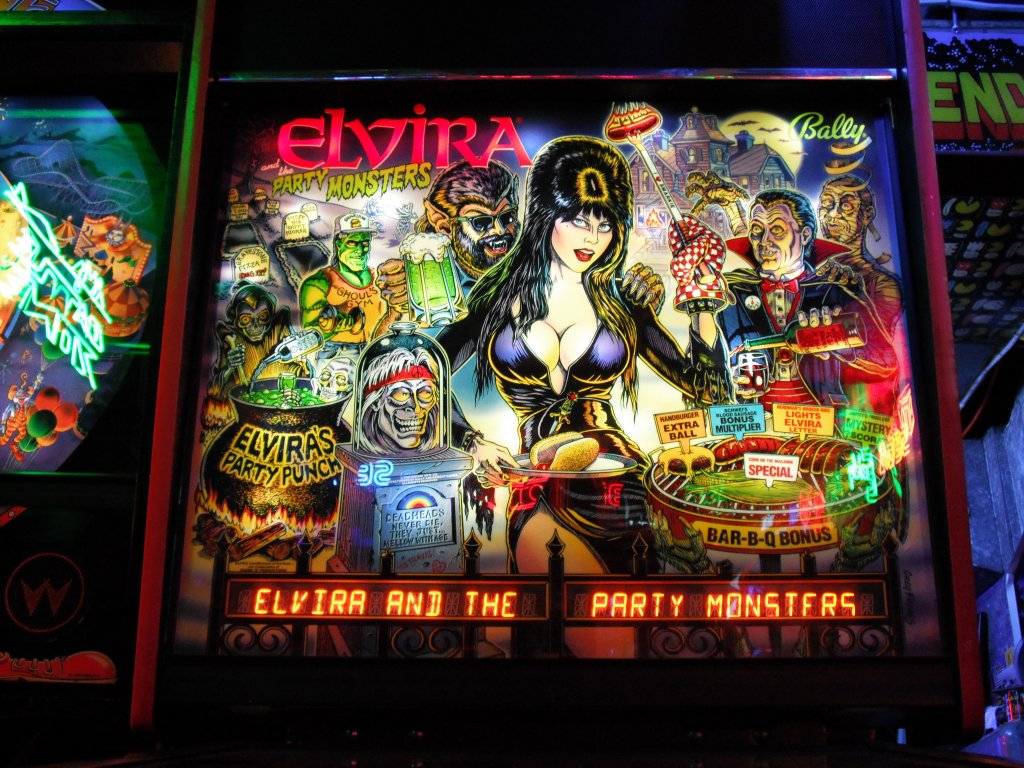 Bally/Williams Elvira and the Party Monsters
