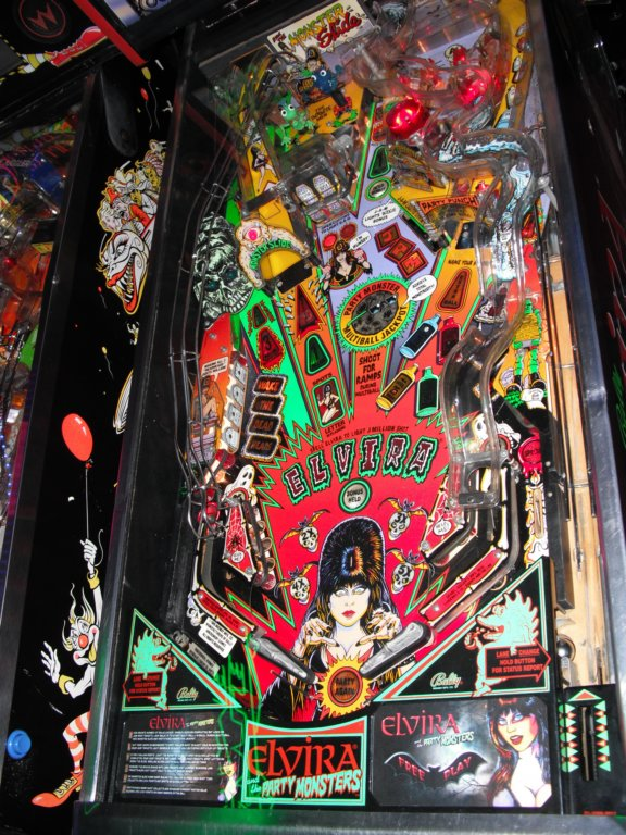 Elvira and the Party Monsters Pinball