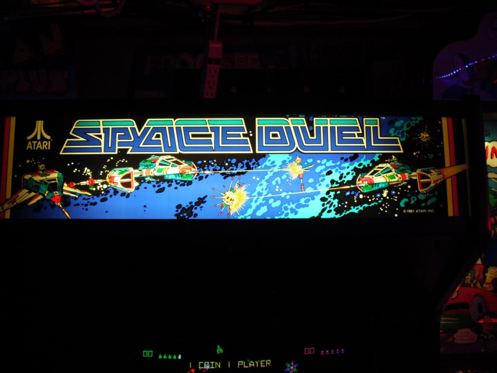 Space Duel - marquee